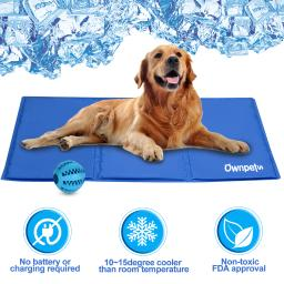 Deals on Ownpets Pet Self Cooling Gel Pad/Cooling Mat