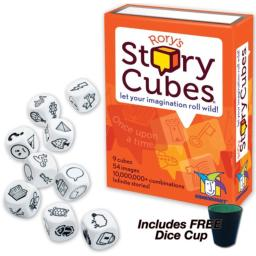Rory's Story Cubes with FREE Dice Cup by Gamewright
