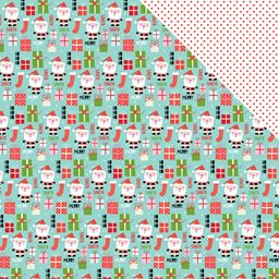 Bella Blvd Alex Collection 12 X 12 Double Sided Paper Mr Claus