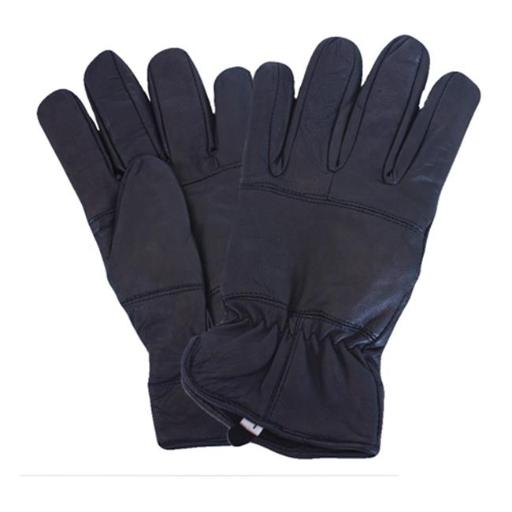 Fox Outdoor 79-84 XL All Leather Police Glove With Fleece Liner, Black - Extra Large BOKZKEZTMZBKFQOA