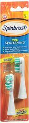 Arm & Hammer Spinbrush Pro Whitening Replacement Brush Heads Soft - 2 Ea