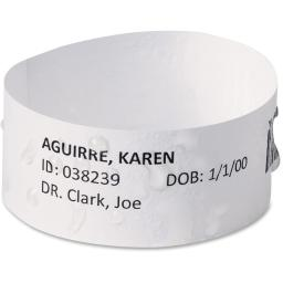 Avery AVE74436 Avery Chart Label EasyBand Medical Wristbands - Pack of 500