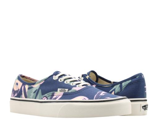 586db3dcd93820 Vans Authentic Vintage Floral Navy Marshmallow Low Top Sneakers VN0A38EMOJP