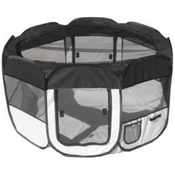 Pet Life LLC 1PPBWMD All-Terrain' Lightweight Easy Folding Wire-Framed Collapsible Travel Pet Playpen