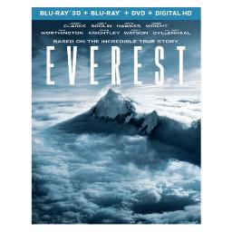 Everest (3d-blu ray/blu ray/dvd w/digital hd w/ultraviolet) (3-d) BR61168903