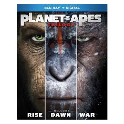 Planet of the apes 1-3 trilogy (blu-ray/digital hd/3pk) BR2343458