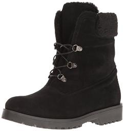 Andre Assous Women's Muse Winter Boot, Black Suede, 8.5