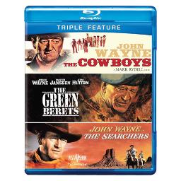 Cowboys/green berets/searchers (blu-ray/tfe) BR304701