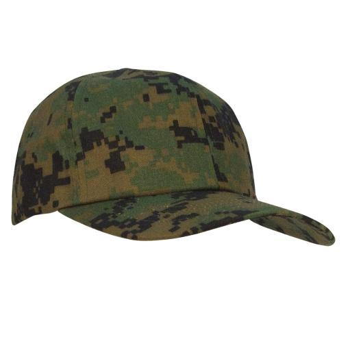 Boy's Baseball Cap - Woodland Digital Camo thumbnail