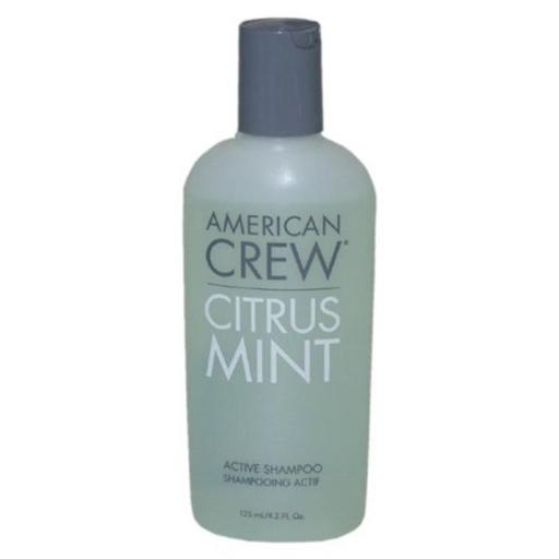 American Crew M-HC-1021 Citrus Mint Active Shampoo by American Crew for Men - 4.2 oz Shampoo DJPLRP4NZMDE0SJG