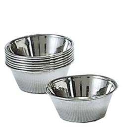 Admiral Craft ADCOYC1PKG 1.5 oz Sauce Cup, Silver