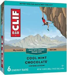 Clif Energy Bars Cool Mint Chocolate