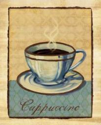 Coffee Club IV Poster Print by Paul Brent PDXBNT259SMALL