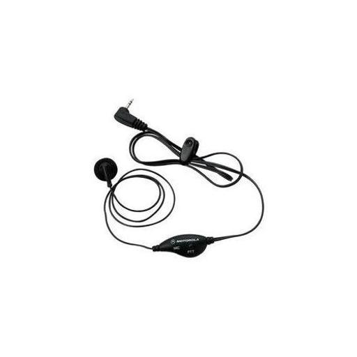 Motorola(r) 53727 2-way radio accessory (earbud with ptt microphone for talkabout(tm) 2-way radios)