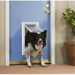 Patio Pacific 03PP12 1 Endura Flap Pet Door for Doors Number 12 - Single Flap -Non Returnable