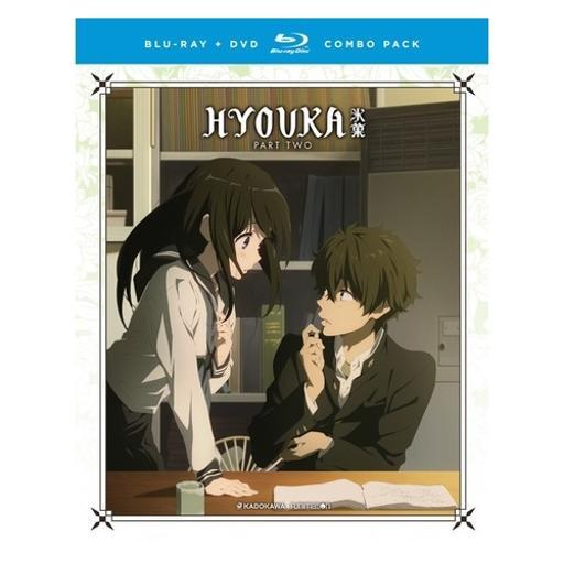 Hyouka-complete series-part two (blu-ray/dvd combo/4 disc) M6K5OPMUWFAEJ19W
