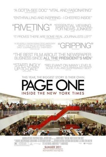 Page One Inside the New York Times Movie Poster (11 x 17) 1IUFF34MRHB4SH2T