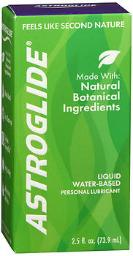 Astroglide Natural Personal Lubricant - 2.5oz, Pack Of 3
