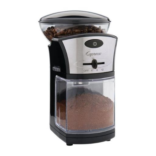 Jura Capresso 559.04 Coffee Burr Grinder Black EAE8C75C38B93DA9