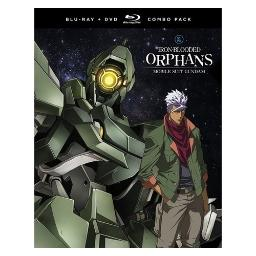 Mobile suit gundam-iron blooded orphans-season 1 part 2 (blu-ray/dvd combo) BRFN05237