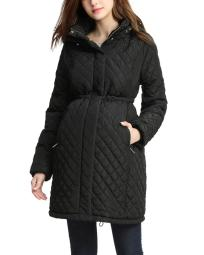 Momo Maternity Prue Quilted Parka