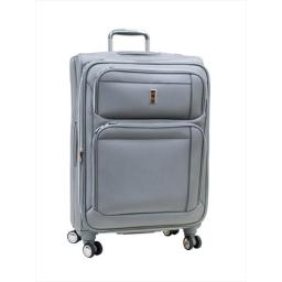 Delsey 15249SL Helium Breeze 4.0 Lightweight 29 in. Expandable Spinner Luggage, Silver