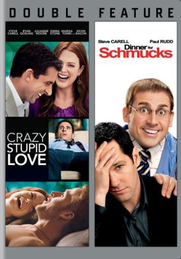 Crazy stupid love/dinner for schmucks (dvd/dbfe/ws) nla S1EHS8FQ0KHQIIFR