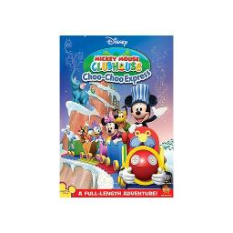 MICKEY MOUSE CLUBHOUSE MICKEYS CHOO CHOO EXPRESS (DVD)