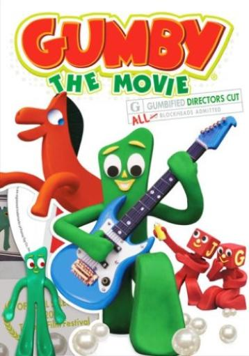 Gumby-gumby movie (blu ray/dvd combo) ZEOEO8MEHUTZHYVR