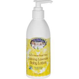 Earth Mama Angel Baby HG1648484 8 oz Baby Lotion, Calming Lavender