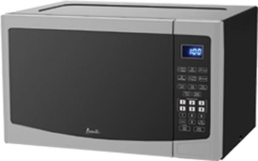 1.2 CF Touch Microwave - Stainless Steel 1.2 CF Capacity 1000 Watts of Cooking Power Touch Pad Control Convenient Cooking Controls 6 Pre-Set Menus - Potatoe - Popcorn - Pizza - Beverage - Frozen Dinner - Reheat 10 Microwave Power Levels Weight Defrost Push Button Door Opener Cookin