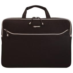 Mobile Edge Black Slipsuit, Cushioned Eva Macbook Laptop Sleeve W/Handle, 13.3 Inch Screens, Large Zippered Exterior Pocket, Water-Resistant, Messm1-13