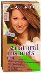 Clairol Natural Instincts Hair Color 9n Dark Blonde (coastal Dune)