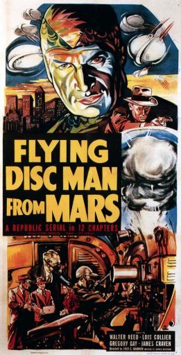 Flying Disc Man From Mars 1950 Movie Poster Masterprint IOVBDUBZTUBEWBWI