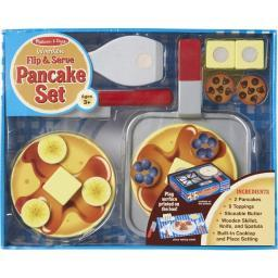 Melissa & doug 9342 wooden flip & serve pancake set