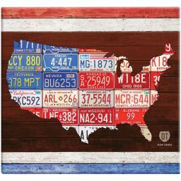 "MBI American License Plate Post Bound Album 12""X12""-License Plates 860095"