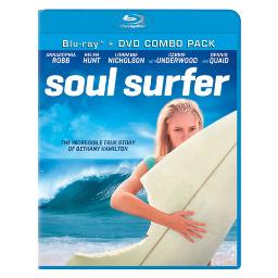 Soul surfer (blu ray/dvd combo/2 disc/dd5.1/5ss/2.40/ws/eng/fren-pais/lat) BR38016