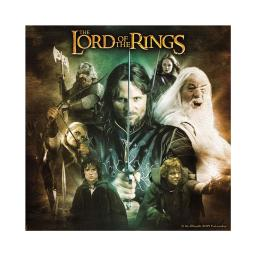 The Lord of the Rings 16 Month 2019 Wall Calendar Frodo Gandalf Gollum LOTR Gift