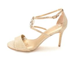 Belle Womens Brandy Open Toe Formal Strappy Sandals