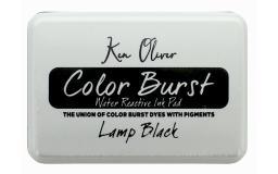 Cttkn08763 contact crafts koliver color burst ink pad lampblk