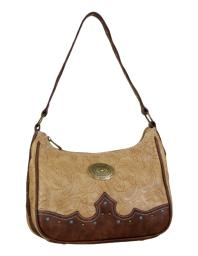 Way West Western Handbag Womens Allegra Conceal Satchel Sepia 1736515 1736515
