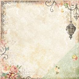 """Blue Fern Memories Double-sided Cardstock 12""""x12""""-twilight Fable"""