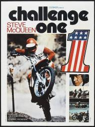 Challenge One French Poster Steve Mcqueen 1971 Movie Poster Masterprint EVCMCDCHONEC006H