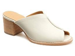 Bill Blass Women's MAE Heeled Sandal, Vanilla, 8 Medium US