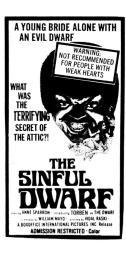 The Sinful Dwarf Movie Poster (11 x 17) MOVEB05860