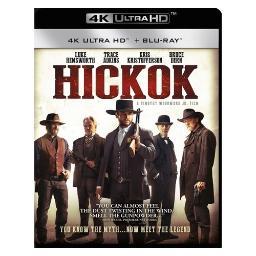 Hickok (blu ray/4kuhd/ultraviolet) BRST5418