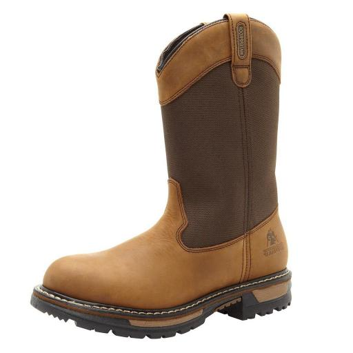 Rocky Outdoor Boots Mens Ride Waterproof Wellington Brown FQ0002867 15B57566DF7F0509