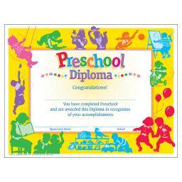 Trend (6 pk) classic diploma preschool