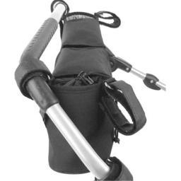 Universal Double Stroller Organizer - Black
