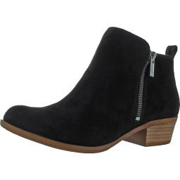 Lucky Brand Womens Basel Solid Booties Ankle Boots